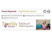 Nursery Manager up to £30k