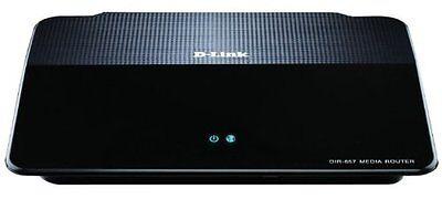 D-Link DIR-657 Wireless N HD Media Router, 4 x Gigabite, SD Card Slot, USB