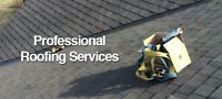 Professional roofing services! 10% off if booked by March