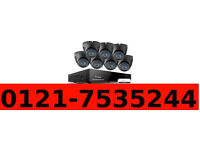 FULL HD cctv camera system with network phone view