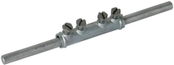 DEHN Verbindungsmuffe 38520, Rundleiter 7-10mm mit 4 Schrauben M6x12mm