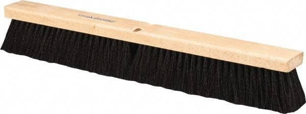 "PRO-SOURCE 24"" General Purpose Polypropylene Push Broom 3"" Bristle Length, Wo..."