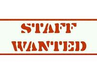 Catering Assistants Wanted