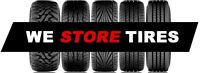 Tire Storage- free up your precious garage space