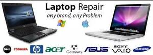 LAPTOP REPAIR! WE FIX ANY ISSUE and ANY MODEL!