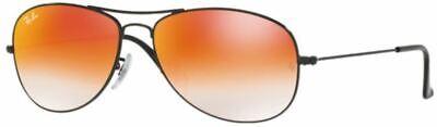 Ray-Ban Damen Herren Sonnenbrille RB3362 002/4W 59mm COCKPIT schwarz orange S J5