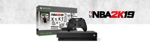 XBOX ONE X 1TB CONSOLE WITH NBA 2K19