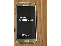 Samsung galaxy S6 32gb..Gold