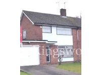 3/4 Bed Semi detached house available to Rent