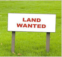 WANTED LAND FOR A MINI HOME