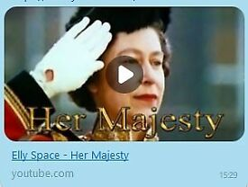 Elly Space: Her Majesty (MP3) - Song dedicated to the Queen's birthday