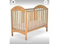 Mamas and Papas Cot Bed and Changing Mat