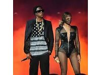 2 x General Admission Standing tickets for Jay-Z & Beyonce Hampden Stadium