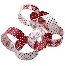 wrapping paper chains.