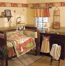 Complete baby room bedding and decor