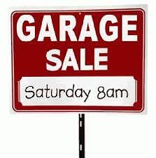 """RIVERVIEW """"2""""  HOUSEHOLD GARAGE SALE ( 8:00 am to NOON)"""