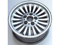 "BMW 5 SERIES GENUINE TURBINE 16"" ALLOY WHEEL (no Tyre) BARGAIN £10"