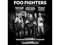 FOO FIGHTERS 22ND JUNE LONDON STADIUM
