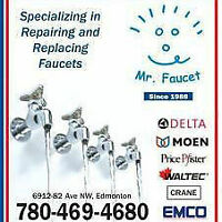 Call us today Mr. Faucet 780-469-4680