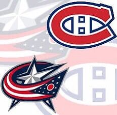 Tuesday Feb 28th Canadiens vs Columbus Blue Jackets DESJARDINS