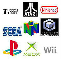 LOOKING FOR/ ACHAT JEUX PS1, PS2, GAMECUBE, Wii,XBOX, SEGA GAMES