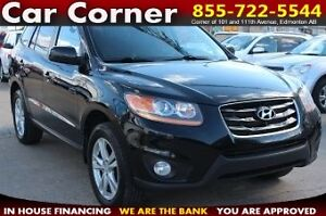 2011 Hyundai Santa Fe GLS 3.5 AWD/LEATHER/SUNROOF/XM/HEAT SEATS