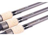 wychwood c101 carp rods x 2.