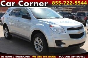 2014 Chevrolet Equinox LS - WITH EXCELLENT FUEL ECONOMY