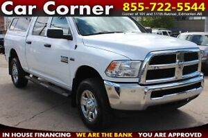 2014 Ram 2500 Crew Cab ST - 4WD/HEMI/TOW PACK/CANOPY/NICE TIRES!