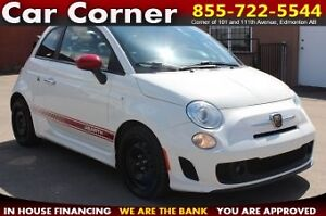 2013 Fiat 500 ABARTH TURBOCHARGED/UNIQUE SPECIAL EDITION!