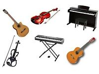 Guitar, Piano, Violin & Ukulele Lessons - Friendly, Qualified, Experienced Teacher