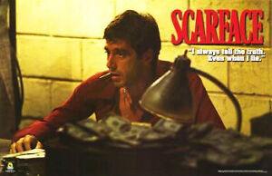 NEW SCARFACE MOVIE PLAQUE ~ ALWAYS TELL THE TRUTH 23x35