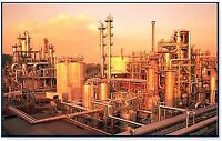 work in the oil industry