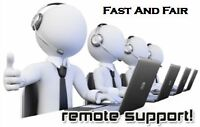 FAST AND FAIR COMPUTER REPAIR (30 Days Free Remote Tech Support)