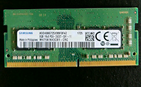 Samsung 8GB DDR4 PC4-2400T SODIMM MEMORY RAM
