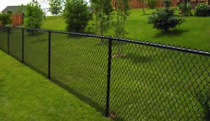 20 feet of 4 foot vinyl coated chainlink fence