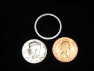 Coin Magic Trick SCOTCH AND SODA - Reg EZ Half Dollar English Penny