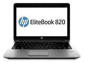 TOP RANGE HP ELITRBOOK 820 G1 LAPTOP- i5- 8GB RAM- 500GB HDD-12.5