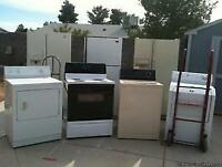Appliance/furniture removal and disposal, moves, deliveries