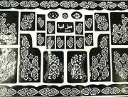 Henna Stencils