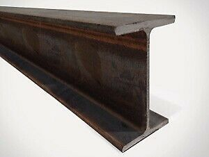 "SOLD - 6"" x 6"" x 20' Structural Steel I Beams / Universal Beams"