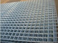 A142 reinforcing steel mesh 2.4x4.8m (for slabs or garden trellis?) cut to size if needed