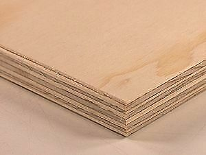 "60 Sheets of 1/4"" plywood for sale."
