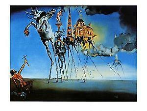 salvador dali antiquit ten kunst ebay. Black Bedroom Furniture Sets. Home Design Ideas