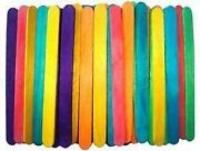 Coloured Lollipop Sticks