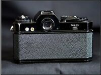 Nikkormat camera