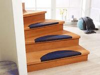 Blue Stairs pads / stair carpet pads / stair pads