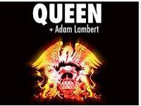 Queen & Adam Lambert Standing Concert Tickets x 2 July 2nd at the o2 !