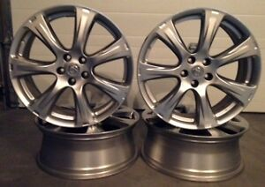 "Set of four 20"" alloy wheels, Mint Condition"