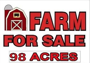 98 ACRE FARM FOR SALE IN WATFORD